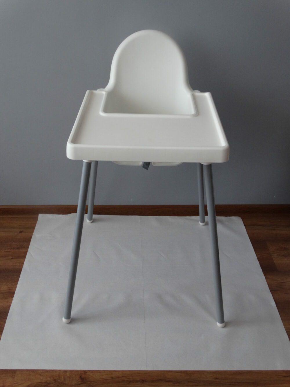 Podkład pod fotelik do karmienia dzieci i niemowląt. Kamienie blw.