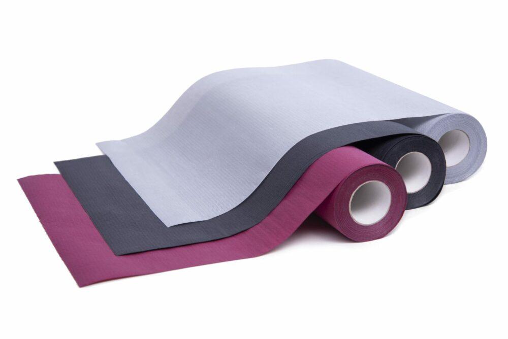Podkład medyczny Medprox Comfort burgund, czarny, szary.