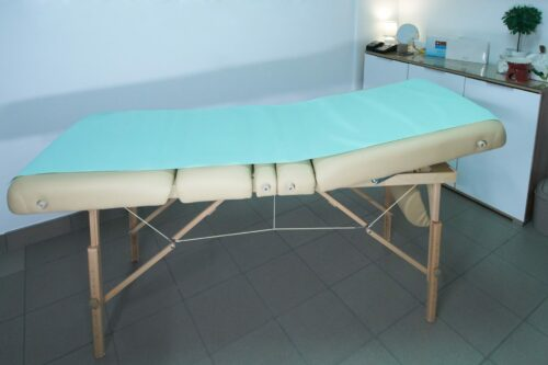 Podkłady higieniczne na łóżko do masażu Medprox Comfort.