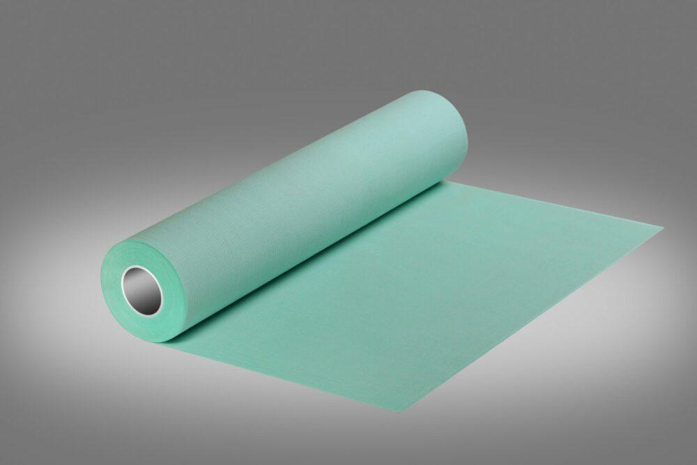 Podkład higieniczny w kolorze zielony.