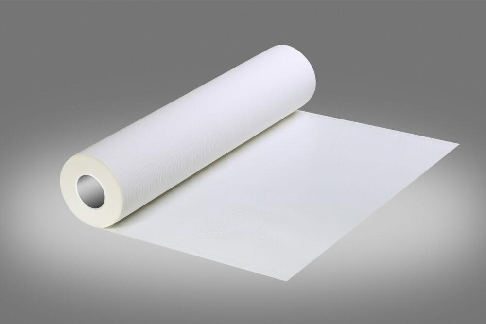 Podkład higieniczny w kolorze białym.