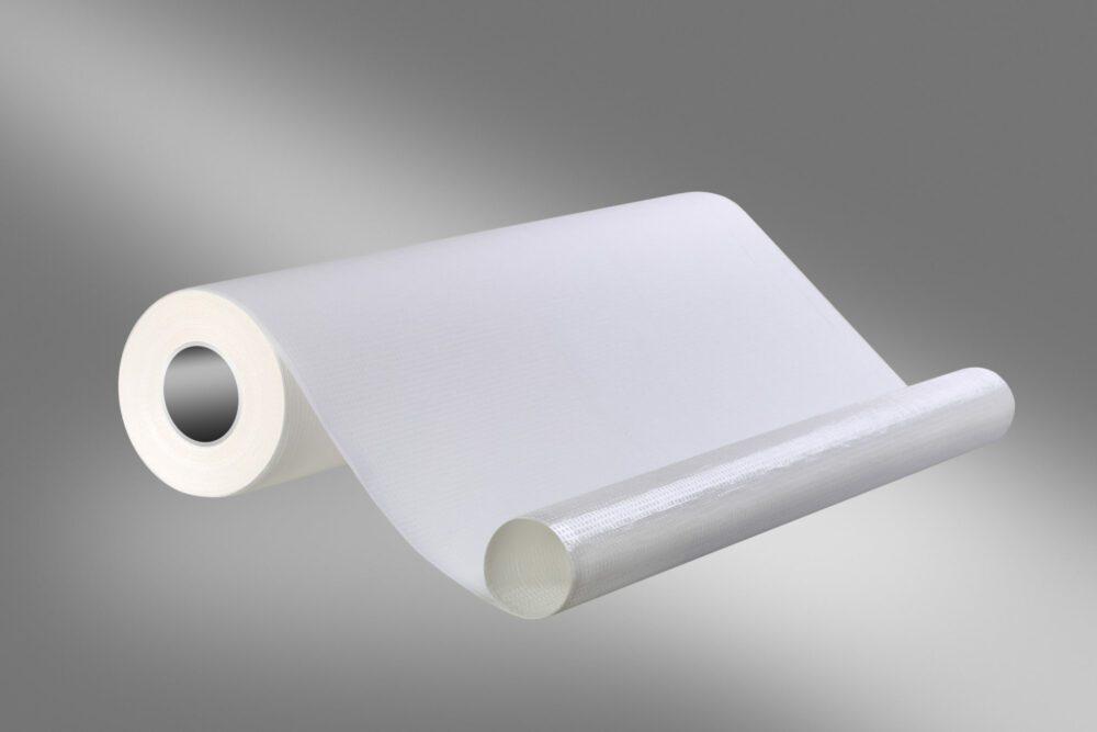 Podkład higieniczny, podfoliowany w kolorze białym.