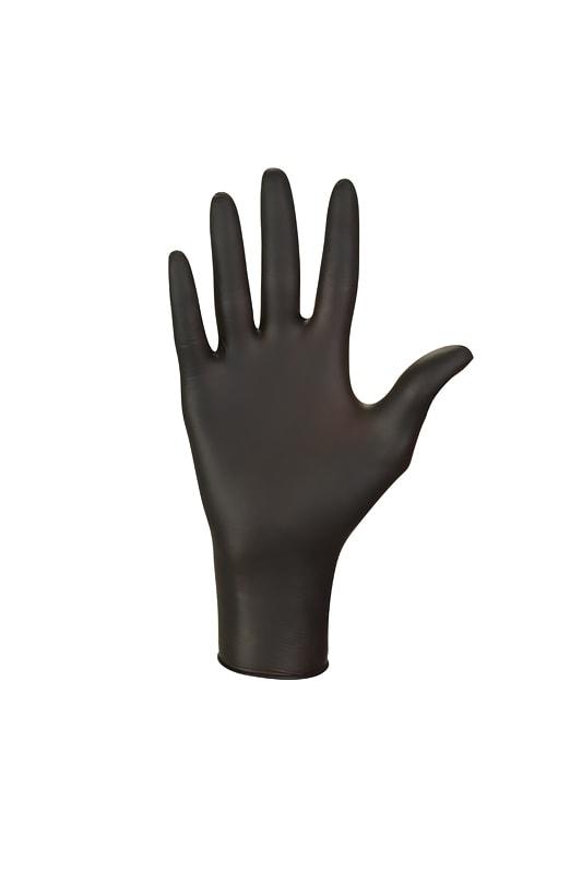 Nitrylex Black rękawiczki nitrylowe czarne.