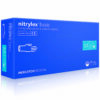 Rękawiczki nitrylowe niebieskie Nitrylex Basic.