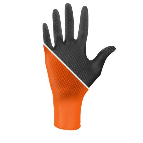 Rękawiczki nitrylowe ochronne Ideall Grip +.