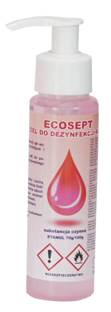 Żel do dezynfekcji rąk 120 ml.