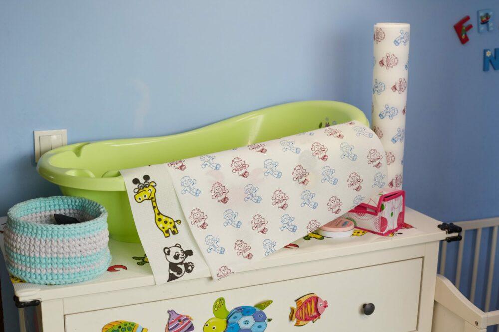 Podkłady dla dzieci Higprox Baby. Wesołe nadruki.