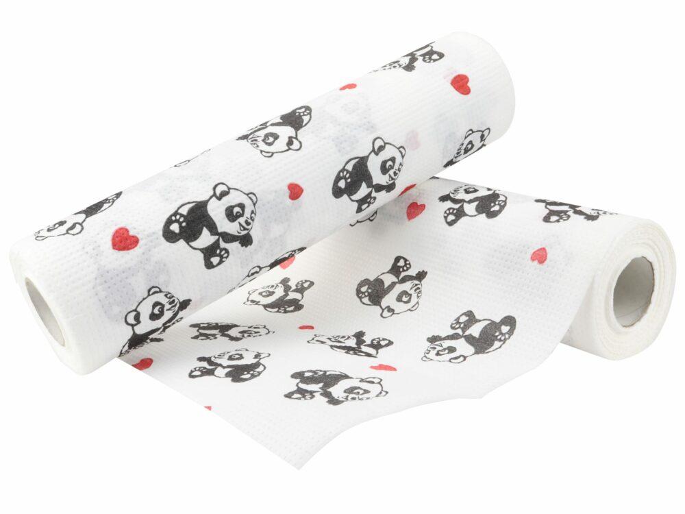 Podkład do przewijania Higprox Baby nadruk panda.